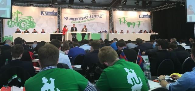 50. JU-Niedersachsentag wählt Tilman Kuban für zwei weitere Jahre zum Landesvorsitzenden